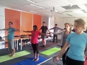 Cours de yoga en entreprise Lille