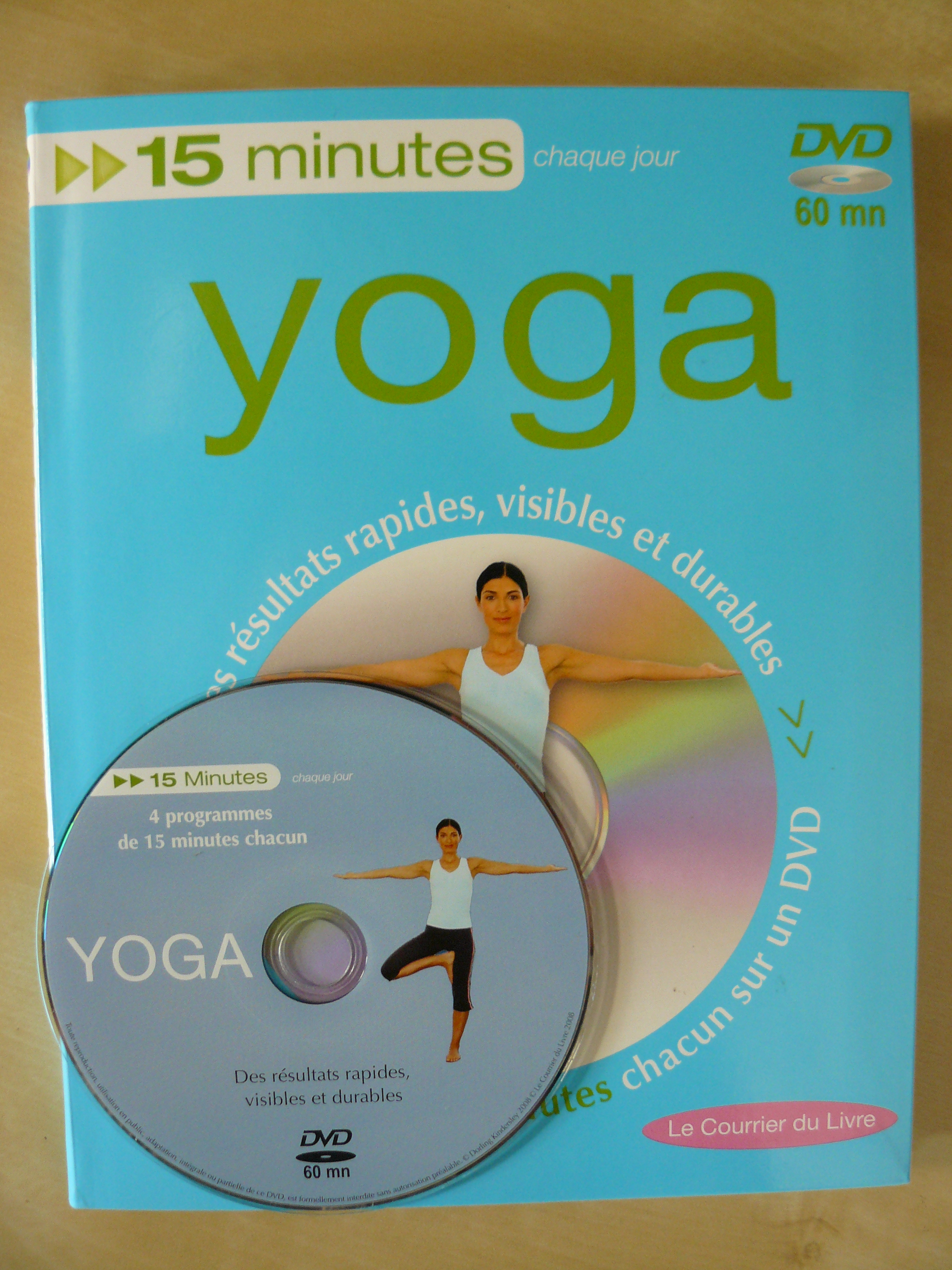 pratiquer le yoga chez soi en 15 min livre et dvd guillaume ducrot yoga. Black Bedroom Furniture Sets. Home Design Ideas