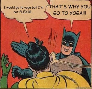 excuses yoga